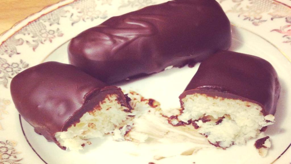Les barres chocolatées façon Bounty