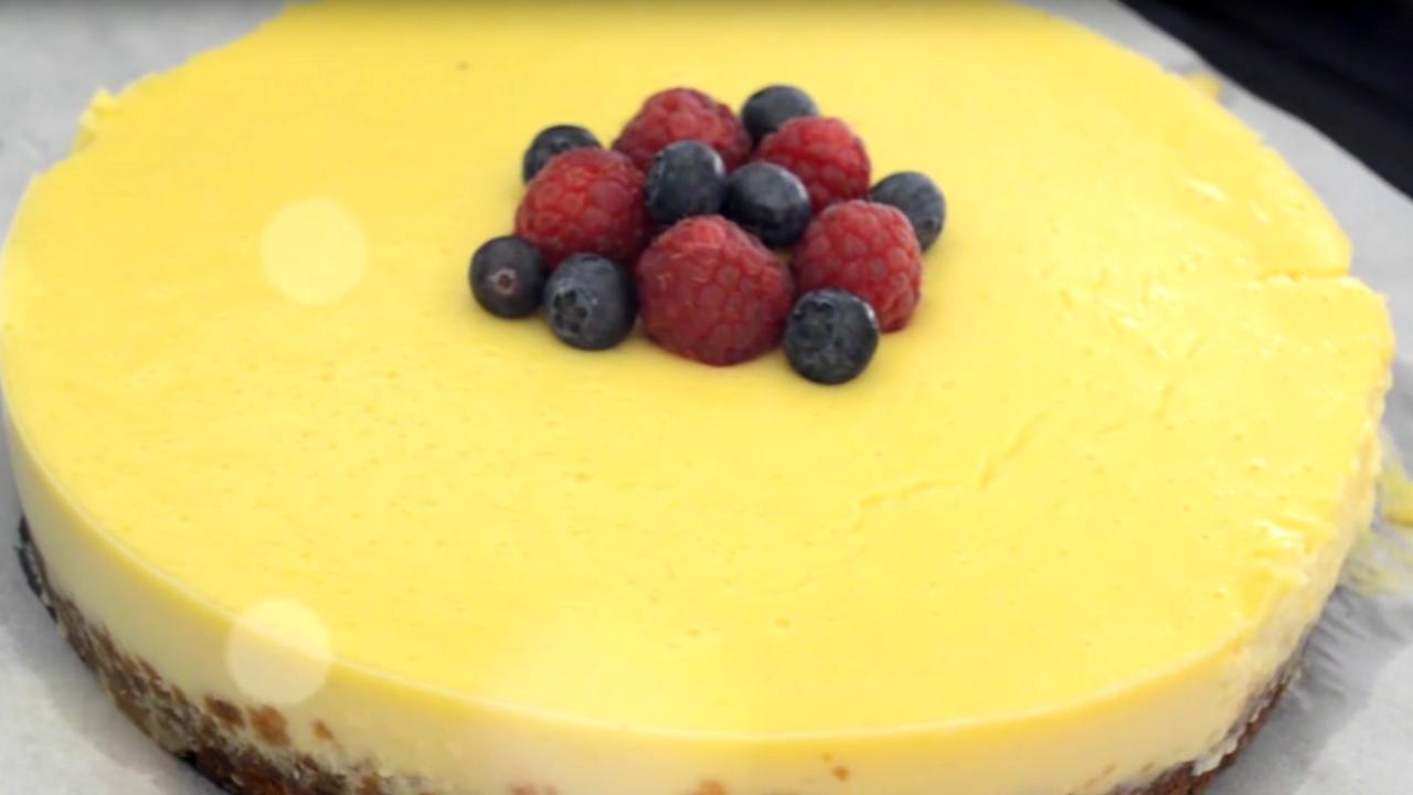 Recette du cheesecake facile