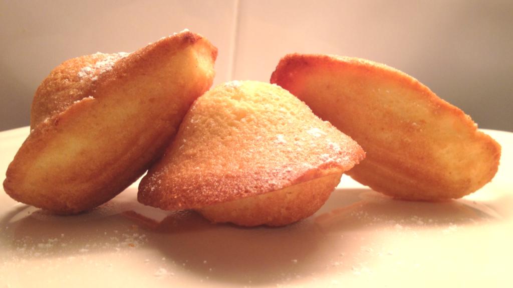 Recette madeleines moelleuses facile